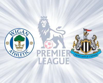 Wigan Athletic vs Newcastle United