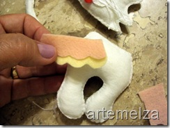 artemelza - gatinho de feltro