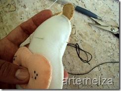 artemelza - vaca de feltro