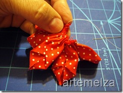 artemelza - dobradura de flor