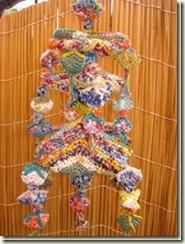 artesanato com sacolas