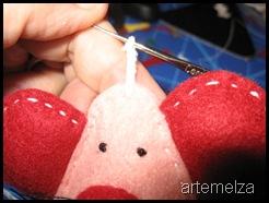 artemelza - ratinho de feltro