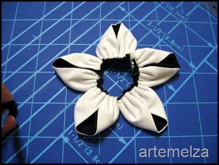 artemelza - flor dupla de fuxico