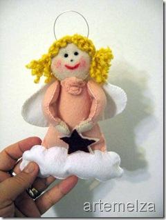 artemelza - anjo de feltro