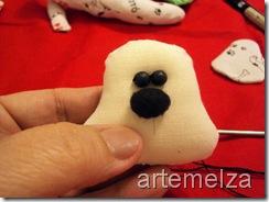 artemelza - cachorro de tecido