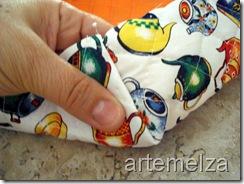 artemelza - cesta fechada para pão