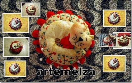 artemelza - alfineteiro gatinho dorminhoco