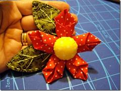 artemelza - flor com quadrado