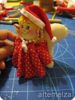 artemelza - anjo de natal