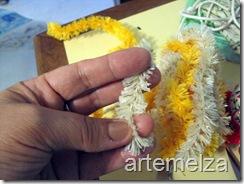 artemelza - presépio de fuxico