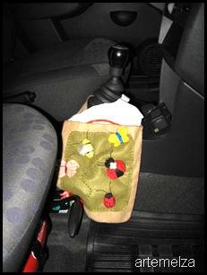 artemelza - lixeira para carro
