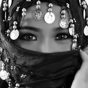 Kisha by Micoy Ausa - Black & White Portraits & People
