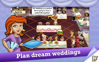 Screenshot of Wedding Dash