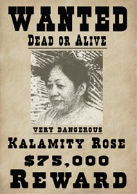 Wanted Kalamity Rose