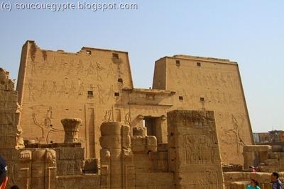 Temple d'Horus à Edfu