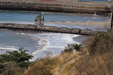 La mer se retire après la 4° vague