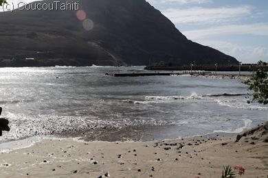 La mer remonte une dernière fois avec beaucoup moins de force...