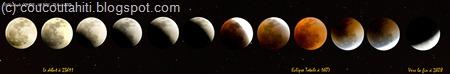 Eclipse Totale de Lune du 27/08/2007