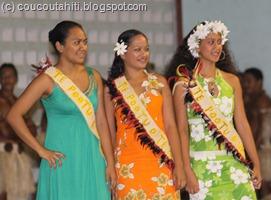 Les Miss... (à droite : Miss UA POU 2010)