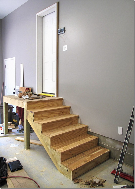 1000 images about stairs steps stuff on pinterest garage steps garage stairs and stairs - How to build a garage cheaply steps ...