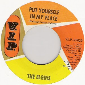 The Elgins - Put Yourself In My Place / Darling Baby