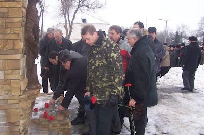 Митинг памяти воинам-интернацоналистам - 2010
