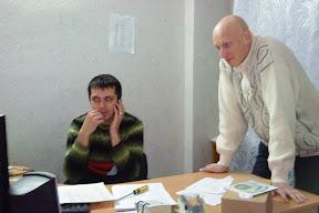 Андрей Клейменов и Сергей Михайличенко