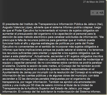 jalisco infomex en crisis itei2