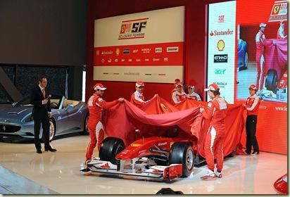 PRESENTAZIONE FERRARI F2010
