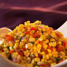 Grilled Corn and Chipotle Pepper Salad