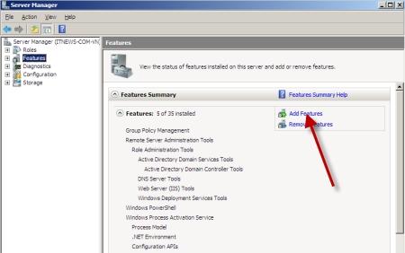 Web server iis