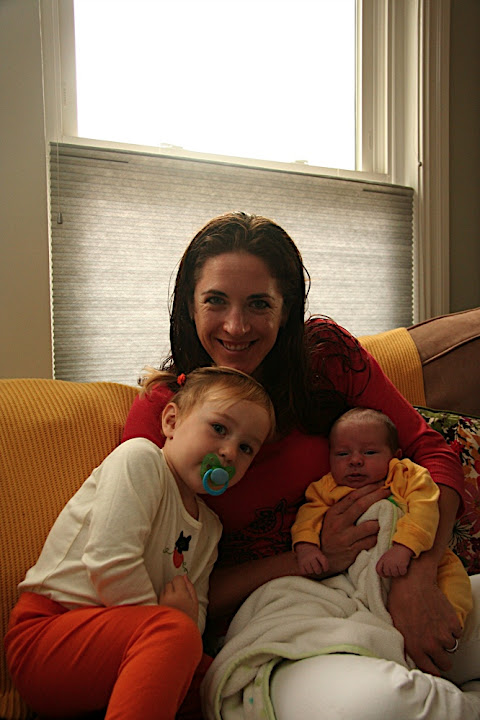 Aunt Kat with Isabel and Thomas