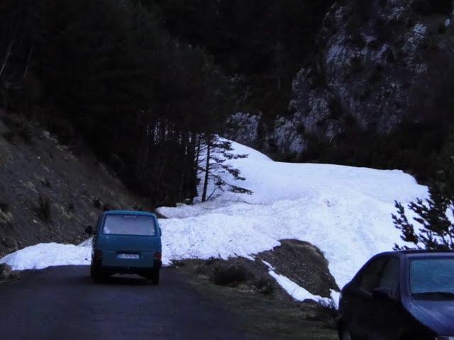 carretera cortada