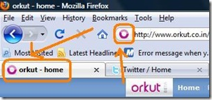 Orkut Favicon