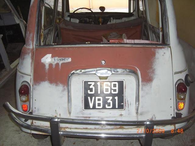 Restau lola une super 1962 restaurations forum 4l for Assurance garage mort