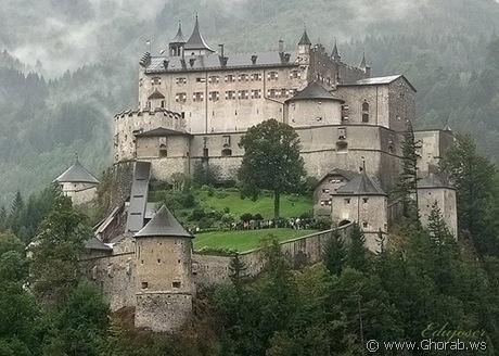 قلعة حصن Hohenwerfen, النمسا