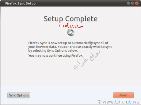 Sync Firefox