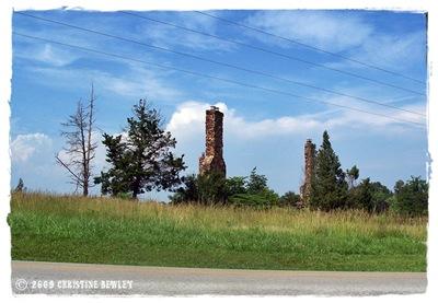 Everly Bros. chimneys...