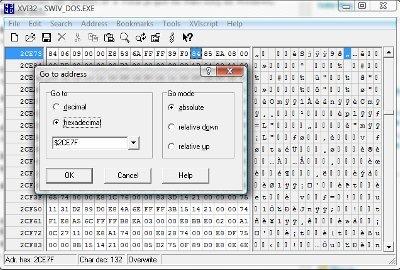 SWIV_DOS aberto em um editor hexadecimal