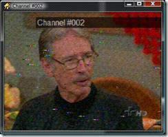 Tela de vídeo do Winamp TV