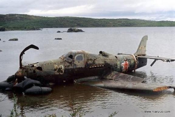 二战战斗机 保存的非常完好