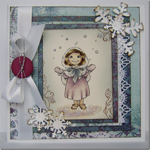 craft barn snow girl