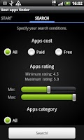 Screenshot of Delicious market beta