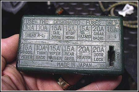 fusebox_cover turn signals and check engine lights suzuki samurai fuse box at crackthecode.co