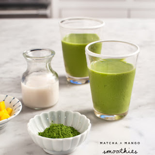 Matcha Mango Smoothies