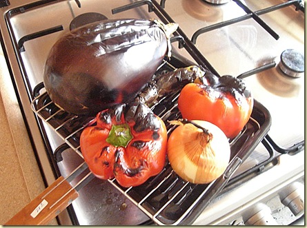 vihannekset grillissa