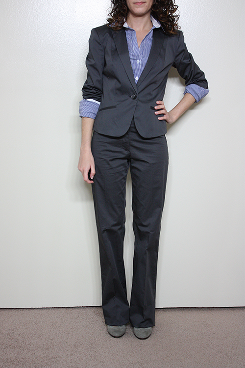 Review: H&M Suiting in Size 2