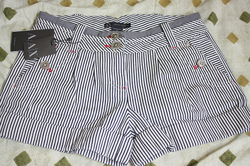 Review: Armani Exchange Shorts in Size P0