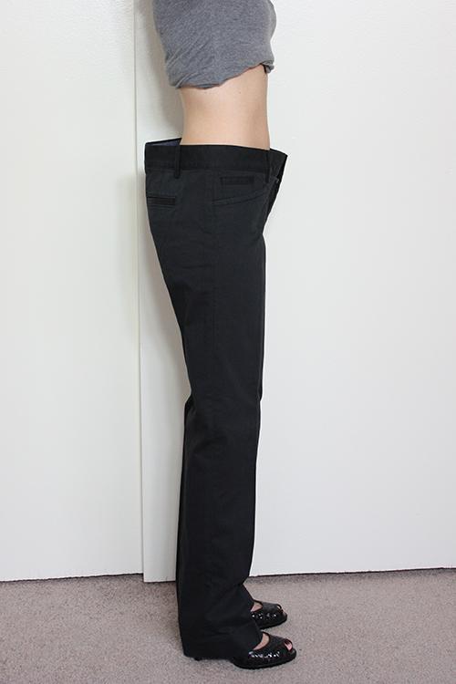 Review: Banana Republic Logan Fit Pants in Size 00P