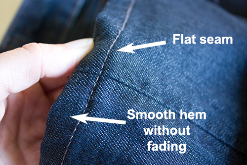 Regular Hem Denim Jean Alterations